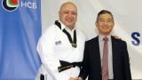 Министър Кралев бе удостоен с почетен седми дан по таекуондо WTF