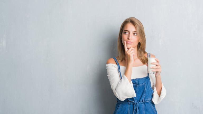 Защо можем да пием прясно мляко