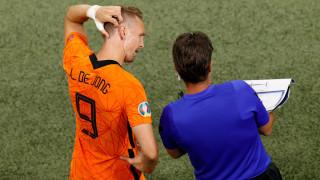 Евро 2020 приключи за Люк де Йонг