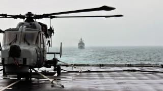 БиБиСи от борда на разрушителя: Враждебни руски предупреждения в украински води