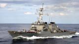 """САЩ: Корабът """"Джон Маккейн"""" не е нарушил руската акватория, това са международни води"""