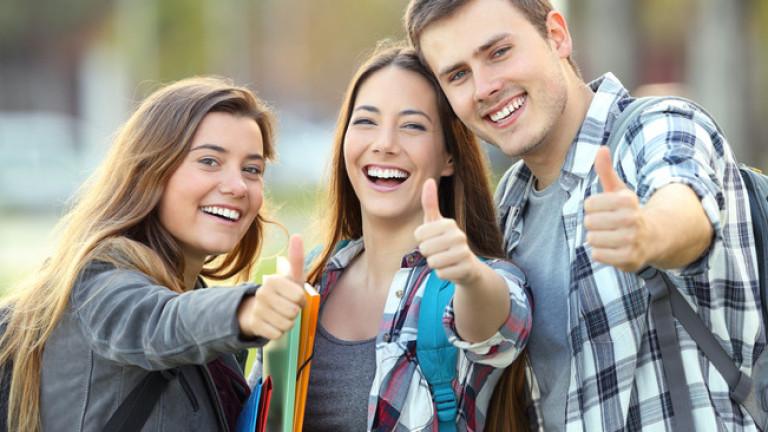 Студентите избират своите специалности в колежа въз основа на много