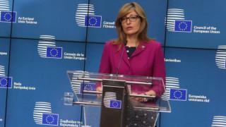 Захариева се надява на бързо съгласие с Великобритания за Брекзит