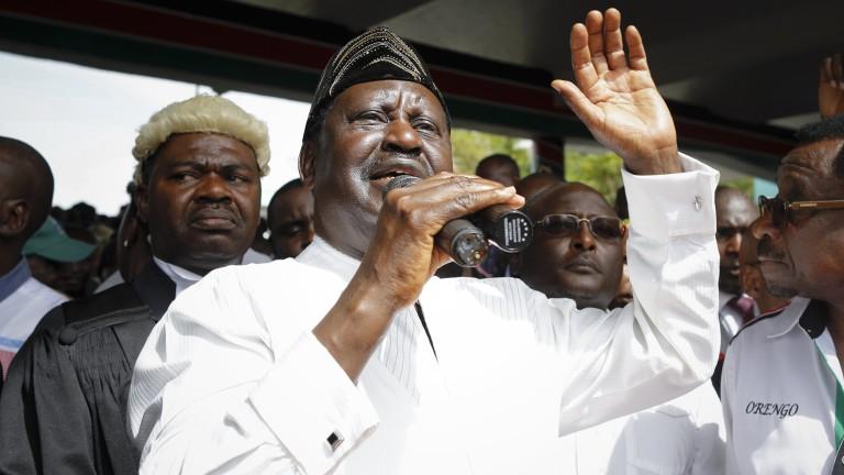 """Кенийският опозиционен лидер Одинга положи клетва като """"президент на народа"""""""