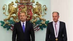 Благодарим с президентски орден за подкрепата на Дания