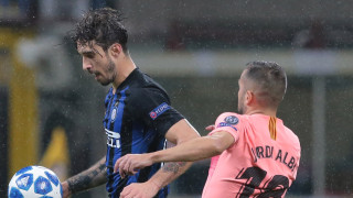 Интер - Барселона 1:1 (Развой на срещата по минути)