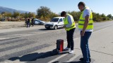 """Ограничен е достъпът до аварийната лента от км 269 до км 273 на АМ """"Тракия"""" в посока Бургас"""