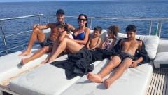 Забавленията на яхта на Роналдо и Джорджина