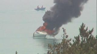 Моторна яхта потъна в Черно море