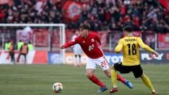 В Италия оцениха високо представянето на Стефано Белтраме за ЦСКА