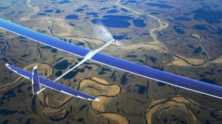 Google се готви да излъчва 5G интернет от соларни дронове