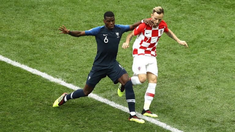 Франция 0 : 0 Хърватия 10′ Франция продължаваше да бъде