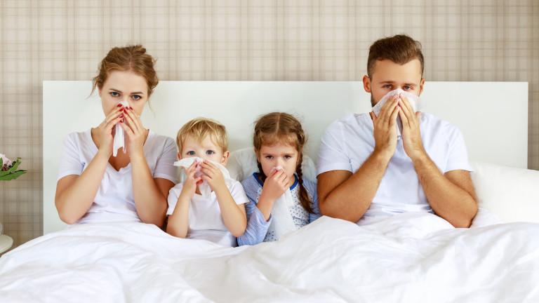 Много алергии се причиняват от липсата на бактерии. Хората са
