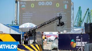 44 държави гледат на живо мачовете от Европейското първенство по плажен хандбал във Варна