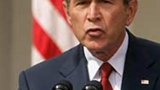 Буш отбелязва четвъртата годишнина от войната в Ирак