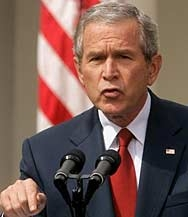 Буш за случващото се в Ирак: С политика не се печели война