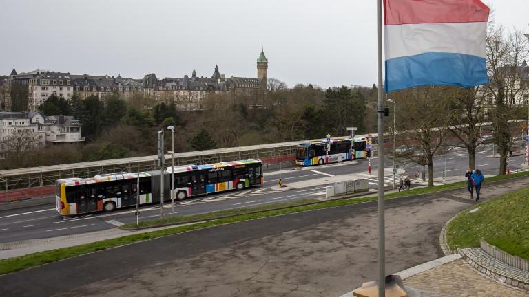 Безплатен градски транспорт в Люксембург от днес