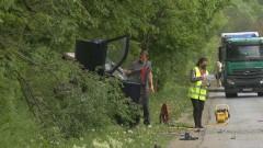 Катастрофа с жертва затвори пътя Велико Търново - Русе