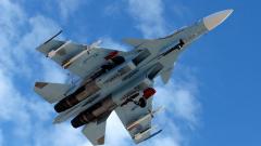 В Русия се разби изтребител Су-30