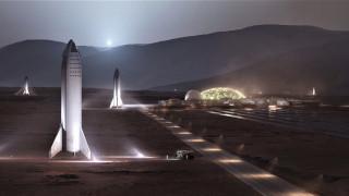 Как ще изглежда SpaceX база на Марс