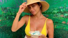 Папарашките снимки на Никол Шерцингер срещу тези от Instagram профила ѝ