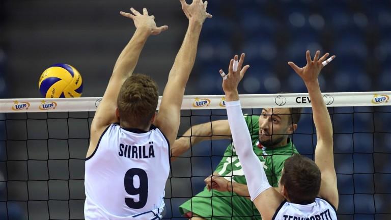 Капитанът на българския национален отбор по волейбол - Виктор Йосифов