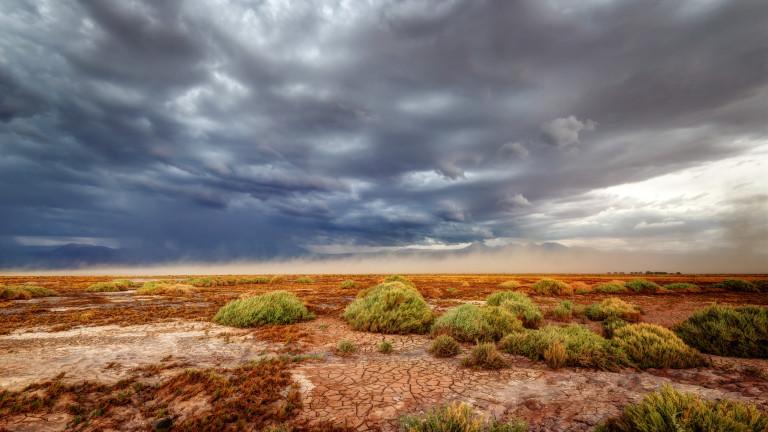 Атакама в Чили е най-старата и суха пустиня на Земята.За