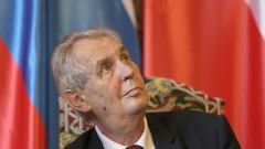 Президентът на Чехия призова Украйна да приеме загубата на Крим