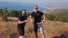 Александър Волков тренира в Свети Влас