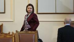 Бъчварова не вярва ДСБ да подкрепи лидера си Радан Кънев?