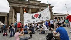18 полицаи са пострадали при вчерашните протести в Берлин