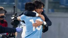 """Лацио отново ликува на """"Олимпико"""", при това срещу Наполи!"""
