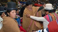 Президентът на Боливия Ево Моралес прие загубата на референдума