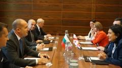 Радев увери Грузия - подкрепяме териториалната ѝ цялост и членството ѝ в ЕС и НАТО