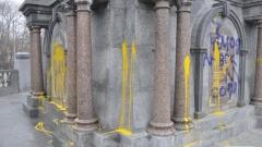 Вандали поругаха паметници в Русе