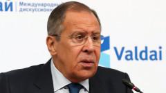 Западът иска да вкара и Балканите в играта, натърти Лавров