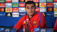 Барса на Валверде с едва четири загуби през сезона, още няма поражение в Шампионска лига