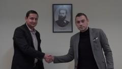 Ботев (Пд) удължи договора на Балтанов