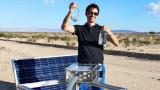 Как се прави вода от пустинен въздух