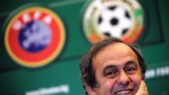 Платини скочи на Блатер, подкрепя йорданския принц за шеф на ФИФА
