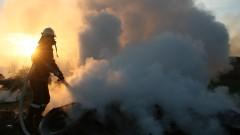 Семейство с малки деца загуби дома си в пожар