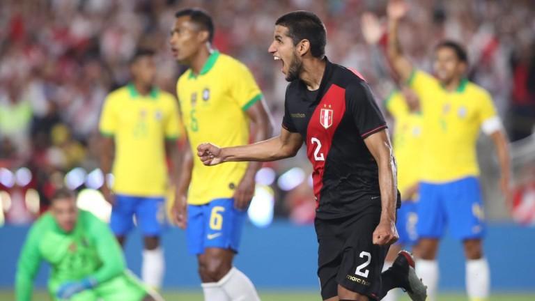 Перу удари Бразилия в Лос Анджелис