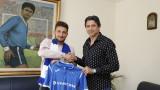 Нелуц Рошу: Подписах с един от най-големите клубове  в България!