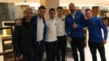 Орлин Старокин посети отбора на Левски в Кипър