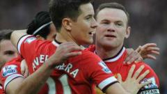 Юнайтед без Уейн в Шампионската лига
