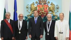 Президентът награди изявени българи
