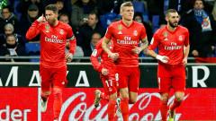 Еспаньол - Реал (Мадрид), 2:4 (Развой на срещата по минути)