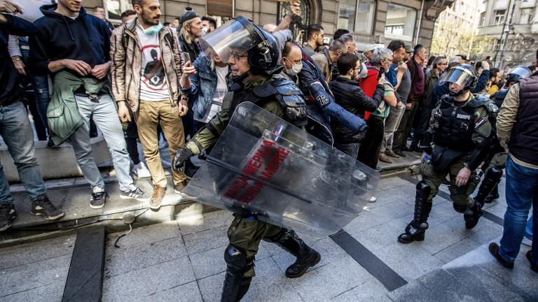 Сръбският президент Александър Вучич не изключварадикализацияна протестите в страната, съобщава