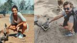"""""""Случайната"""" среща на Диляна Попова и Калин Врачански в Австралия"""