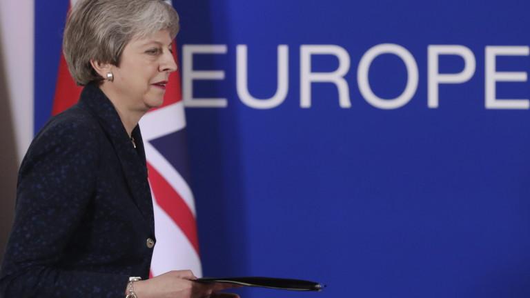 Британският премиер Тереза Мей е